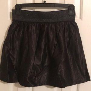 Forever 21 purple/ black party skirt